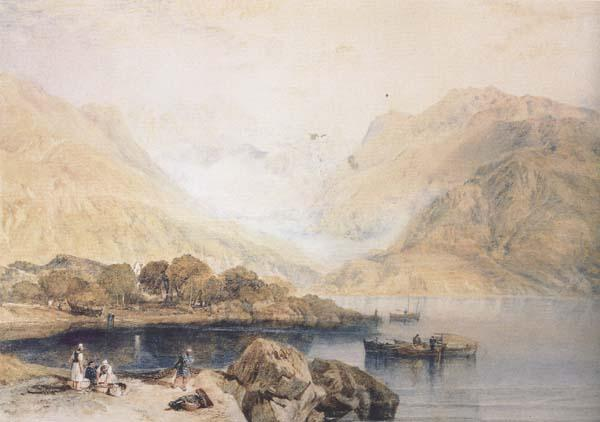 Joseph Mallord William Truner Loch Fyne (mk47) oil painting image
