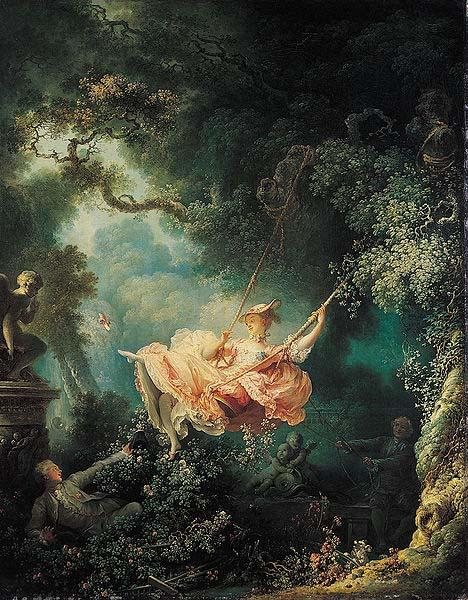 Jean-Honore Fragonard The Swing oil painting image