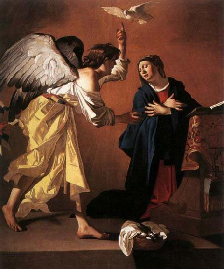 JANSSENS, Jan The Annunciation oil painting image