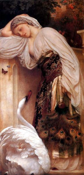 Frederick Leighton Odalisque oil painting picture