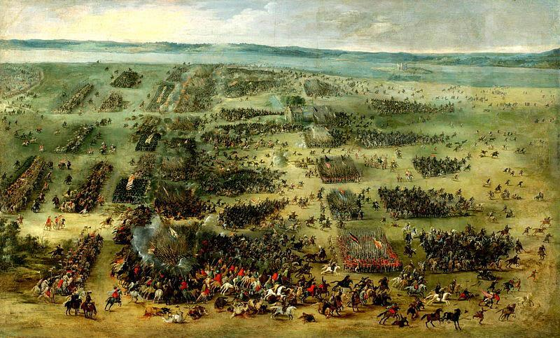 Peter Snayers Battle of Kircholm, 1605. oil painting image