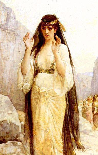 Alexandre Cabanel The Daughter of Jephthah oil painting image