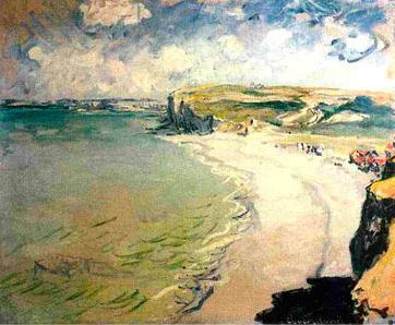 Claude Monet The Beach at Pourville oil painting picture