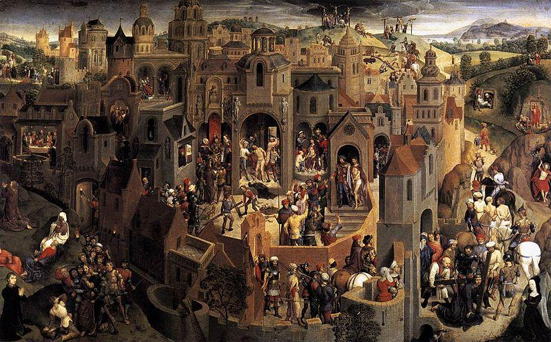 Hans Memling Scenes from the Passion of Christ oil painting picture