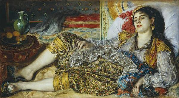 Pierre Auguste Renoir Odalisque oil painting picture
