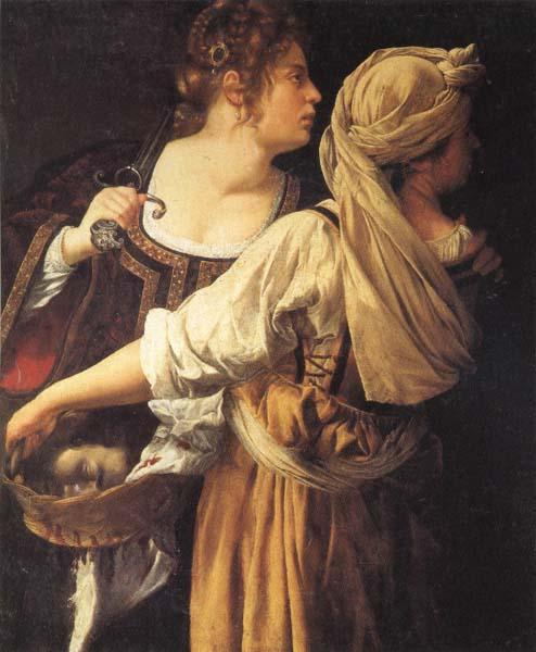 Artemisia gentileschi Judith and Her Maidser oil painting image