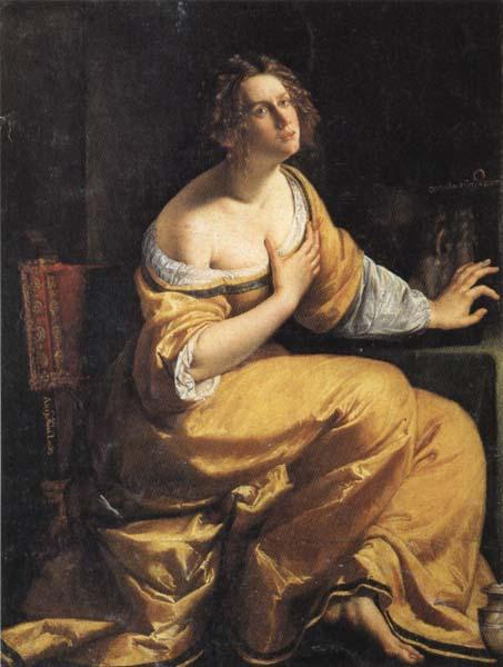 Artemisia gentileschi Mary Magdalen oil painting image