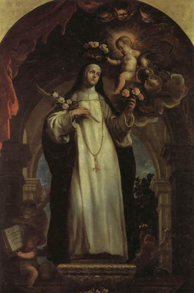 COELLO, Claudio St.Rose of Lima oil painting image