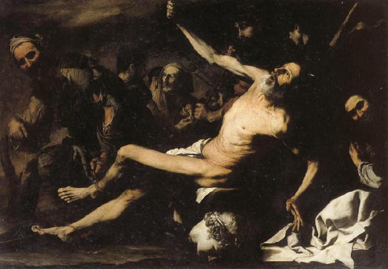 Jusepe de Ribera The Martydom of St.Bartholomew oil painting image