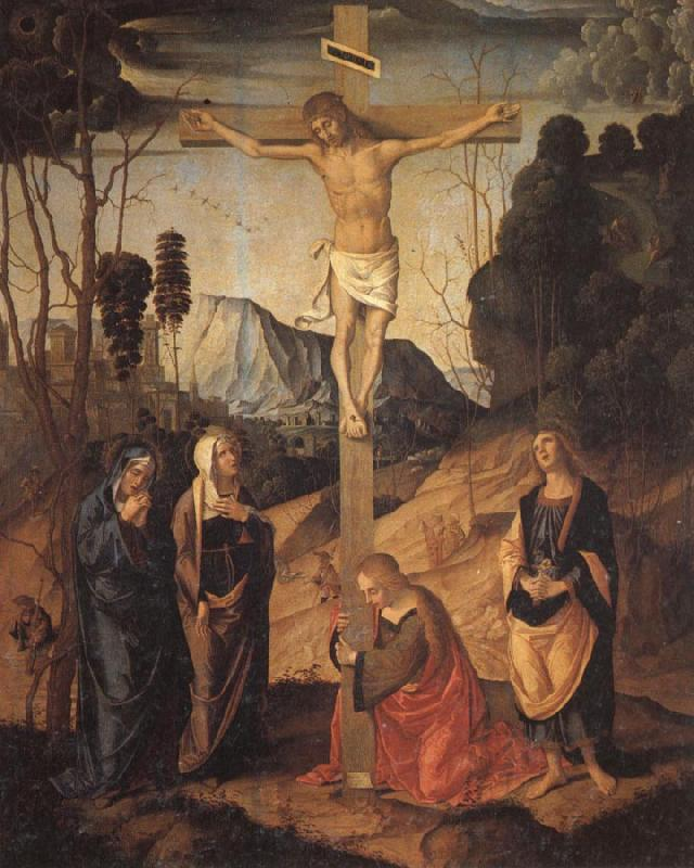 Marco Palmezzano The Crucifixion oil painting picture
