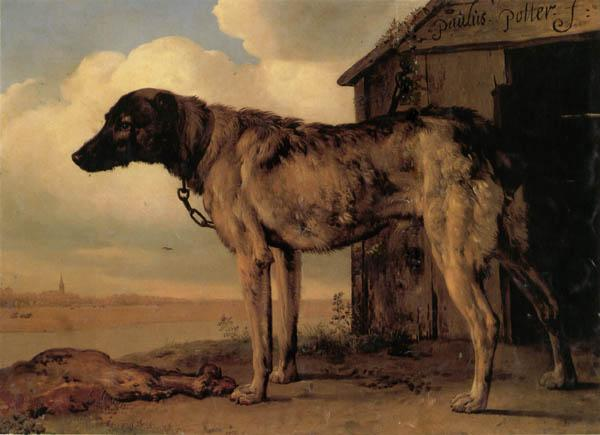 POTTER, Paulus Watchdog oil painting image