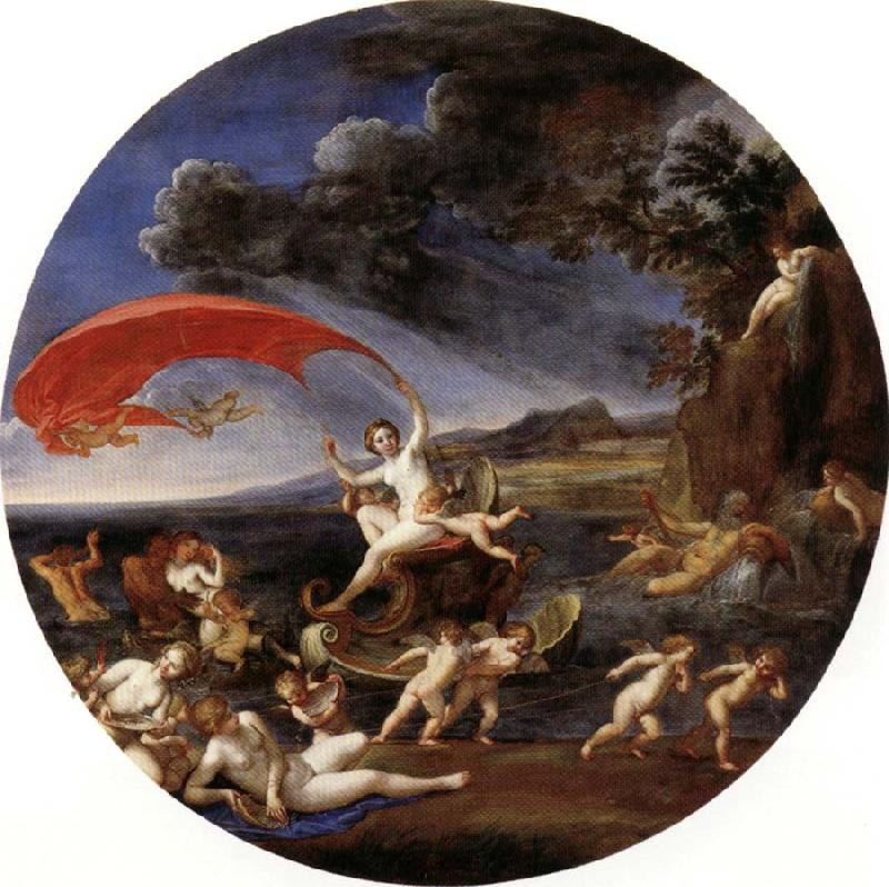 Albani Francesco Allegory of Water,from The Four Elements Germany oil painting art