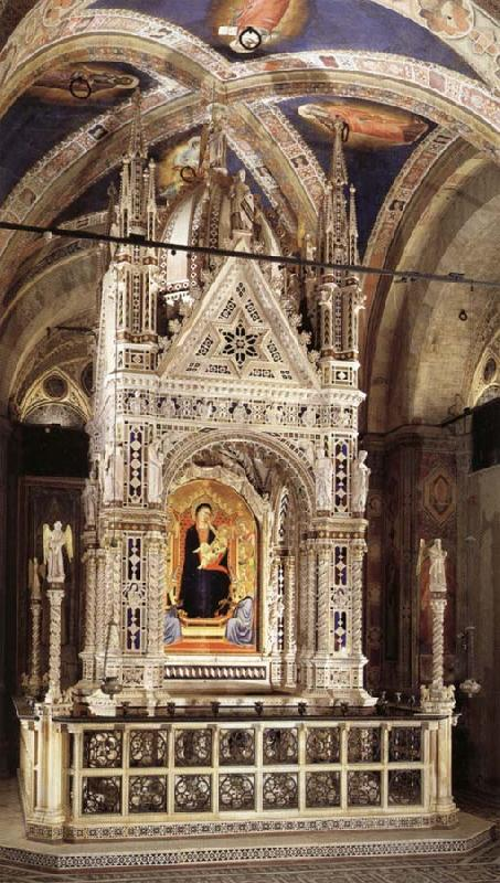 Andrea di Orcagna Tabernacle oil painting picture