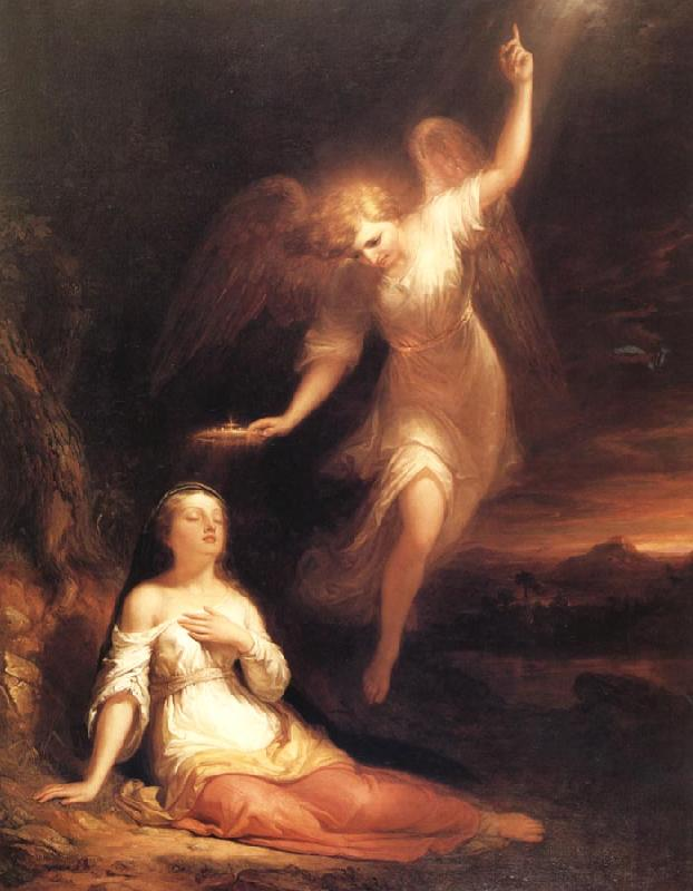 Huntington Daniel Mercy's Dream oil painting image