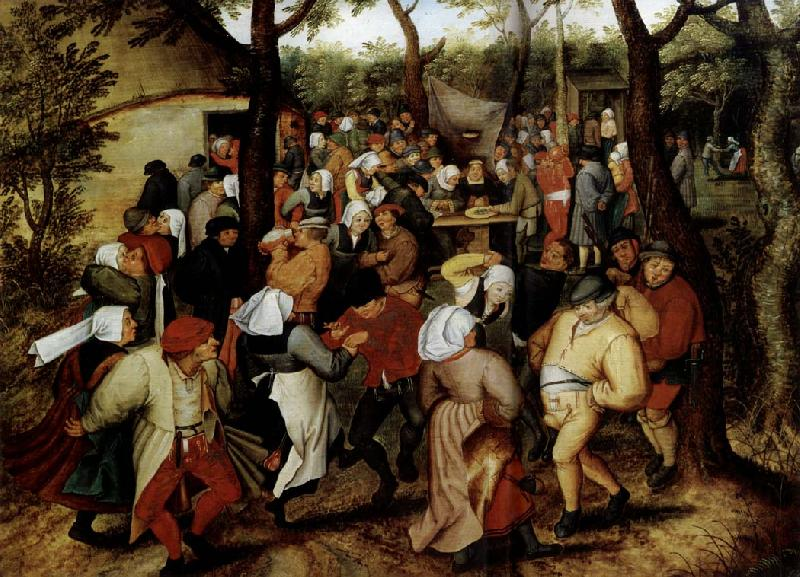 Pieter Bruegel Rustic Wedding oil painting image
