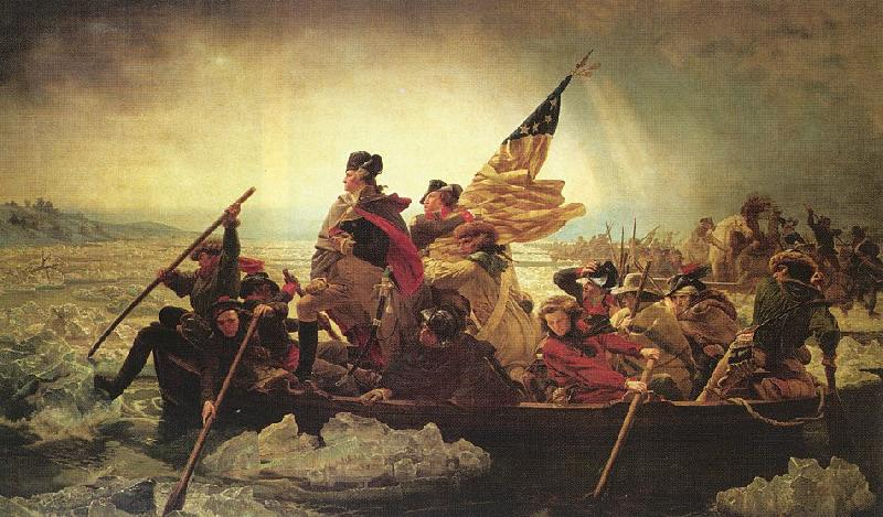 Leutze, Emmanuel Gottlieb Washington Crossing the Delaware oil painting image