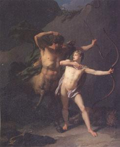 Baron Jean-Baptiste Regnault The Education of Achilles by the Centaur Chiron (mk05) oil painting image