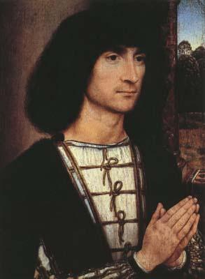 Hans Memling Portrait of a Praying Man.(mk08) oil painting image