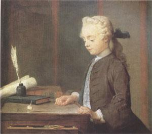 Jean Baptiste Simeon Chardin Boy with a Top (nk05) oil painting image