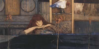 Fernand Khnopff I Lock my Door upon Myself (mk20) oil painting image
