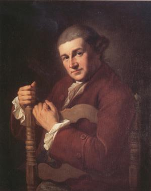 Angelica Kauffmann David Garrick (nn03) oil painting image