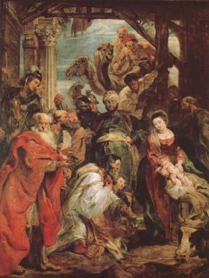 Peter Paul Rubens THe Adoration of The Magi (mk27) oil painting image