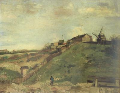 Vincent Van Gogh Montmartre:Quarry,the Mills (nn040 oil painting image