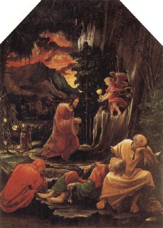 Albrecht Altdorfer The Agony in the Garden oil painting image