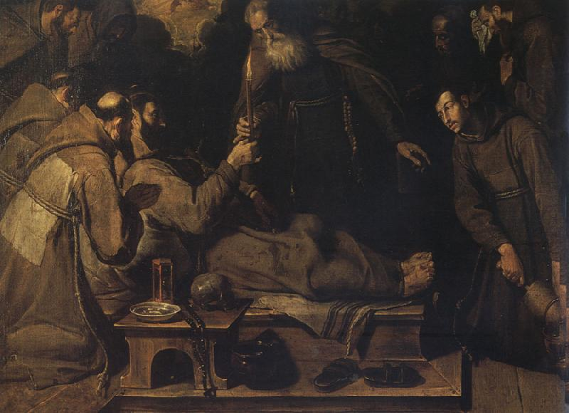 Bartolome Carducho Death of St.Francis oil painting image