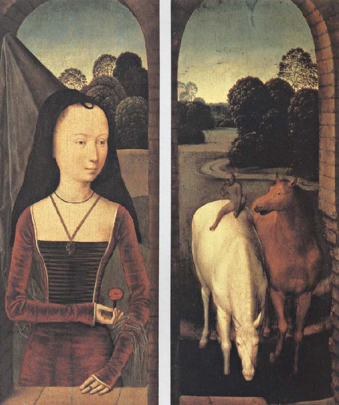 Hans Memling Recreation by our Gallery oil painting image