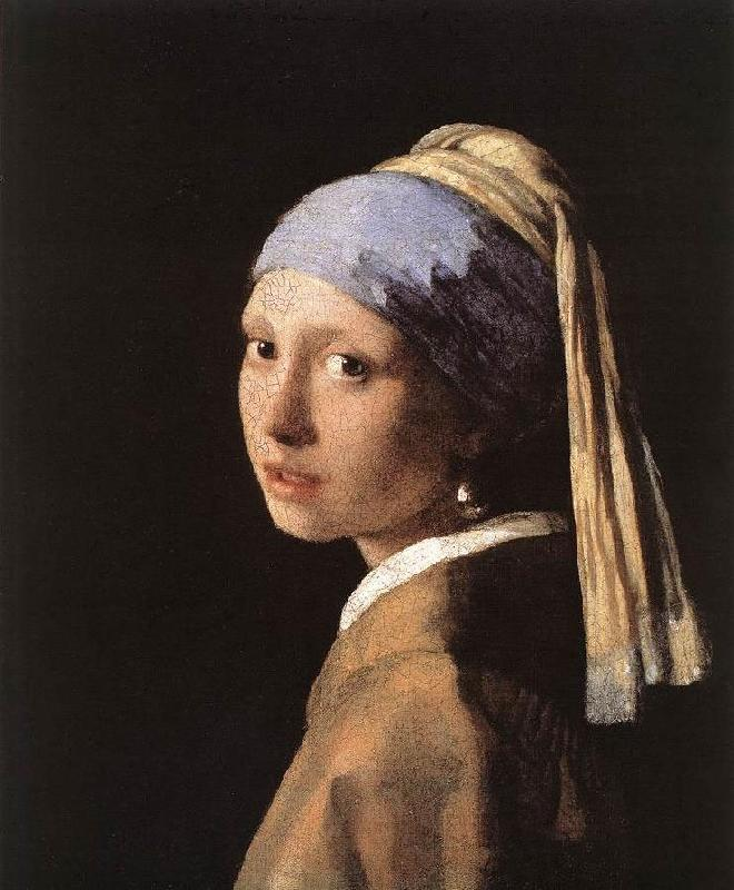 JanVermeer Girl with a Pearl Earring oil painting image