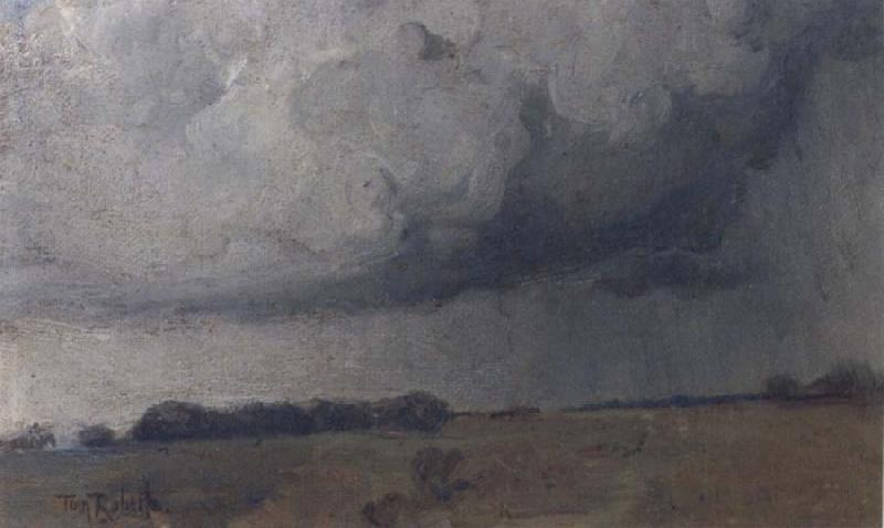 Tom roberts Storm clouds oil painting image